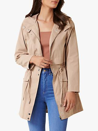 Forever New Kiwa Hooded Parka, Camel