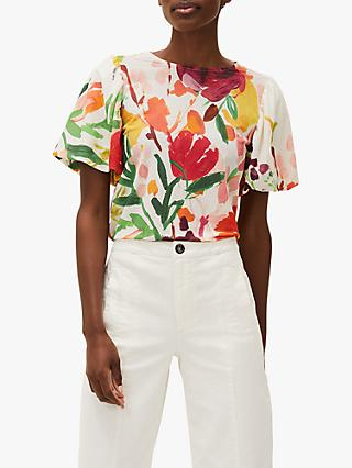 Phase Eight Kacie Floral Top, Multi