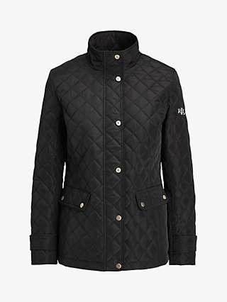 Lauren Ralph Lauren Quilted Insulated Coat, Black
