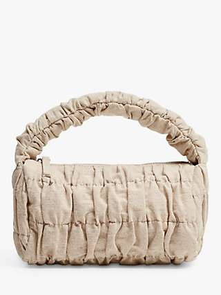 Mango Ruched Cross Body Bag