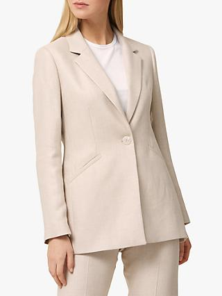 Helen McAlinden Willow Tailored Blazer, Blush