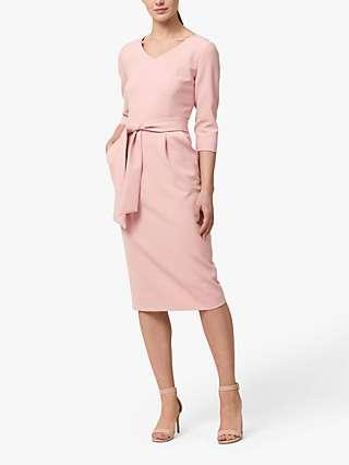 Helen McAlinden Astrid Belted Dress, Pink
