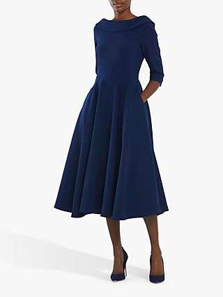 Helen McAlinden Marylin Flared Dress, Midnight