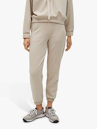 Mango Elastic Waist Jogger Trousers