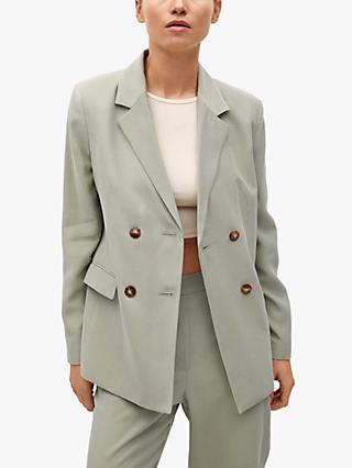 Mango Structured Suit Blazer