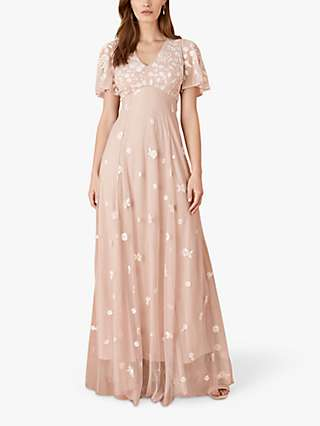 Monsoon Kaitlyn Embroidered Maxi Dress