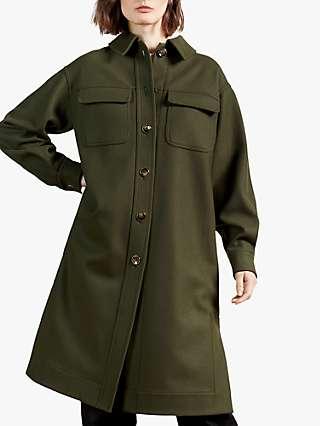 Ted Baker Lomma Wool Blend Coat