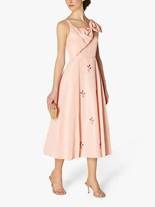 L.K.Bennett x Royal Ascot Jolene Beaded Dress, Rose