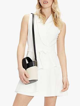 Ted Baker Laraaa Tiered Mini Dress, White