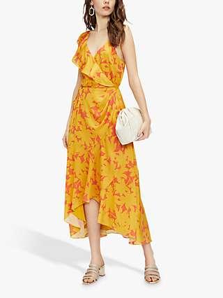 Ted Baker Saraaa Floral Print Wrap Dress, Multi