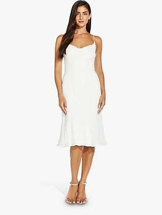 Adrianna Papell Beaded Slip Dress, Ivory