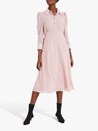 Damsel In A Dress Fraya Textured Midi Dress, Cosmetic