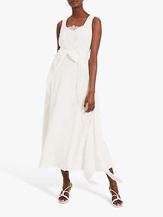 Damsel In A Dress Mattie Bow Front Dress, Ivory