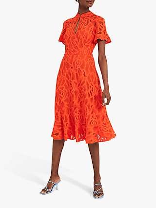 Damsel In A Dress Lulu Lace Midi Dress