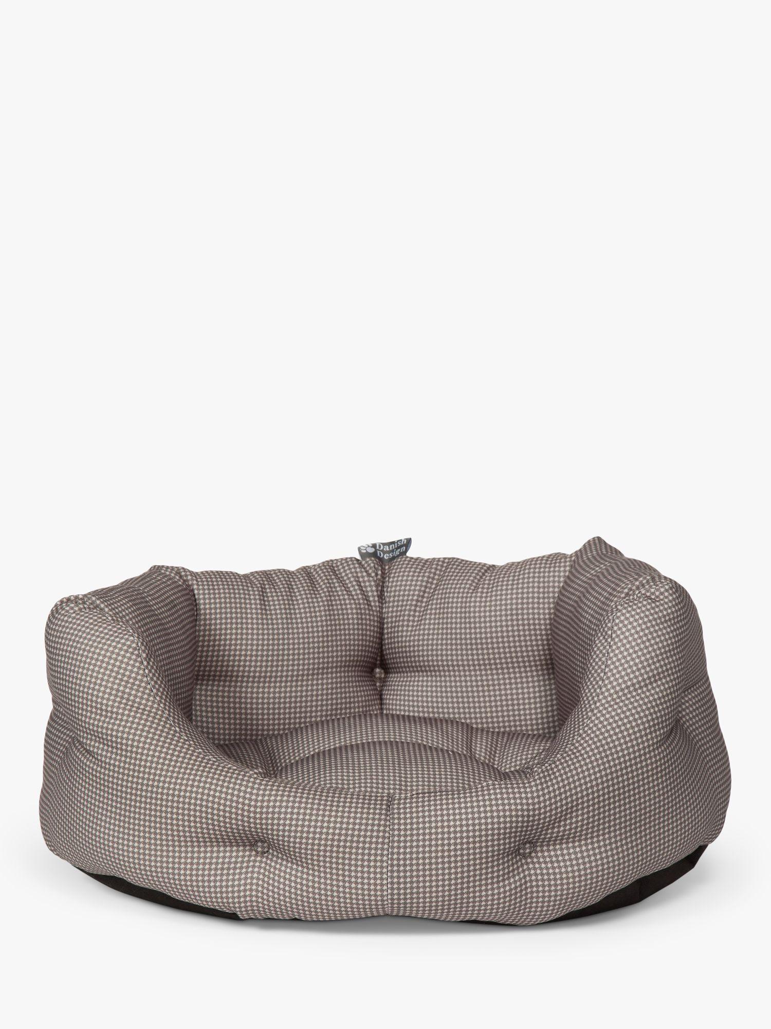 Danish Design Vintage Dogstooth Dog Bed