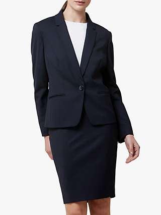 Helen McAlinden Office Blazer Jacket, Navy