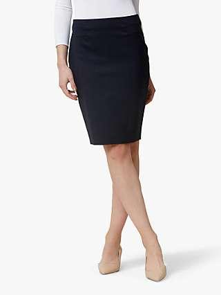 Helen McAlinden Office Pencil Skirt, Navy
