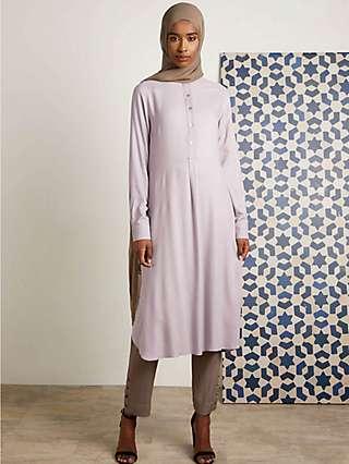 Aab Shell Button Midi Shirt Dress