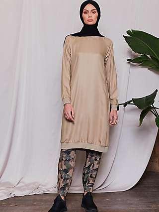 Aab Raglan Midi Dress, Olive