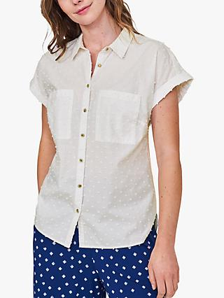 White Stuff Elmer Organic Cotton Shirt