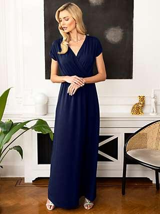 HotSquash Wrap Front Maxi Dress