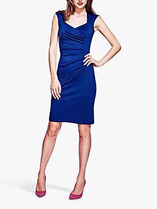 HotSquash Hostess Jersey Dress, Navy