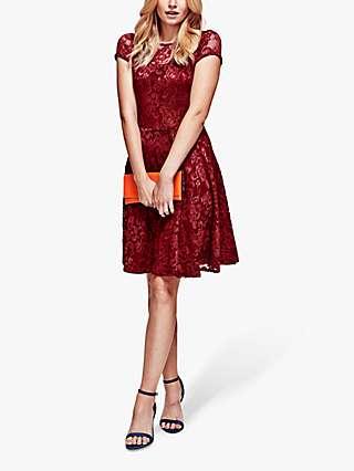HotSquash Lace Skater Dress