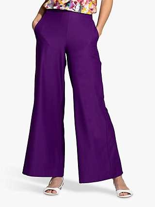 HotSquash Luxe-Lounge Wideleg Crepe Trousers