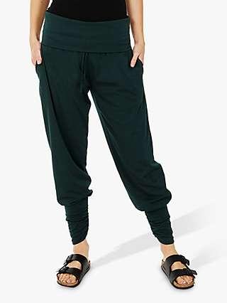 HotSquash Roll Top Yoga Harem Trousers
