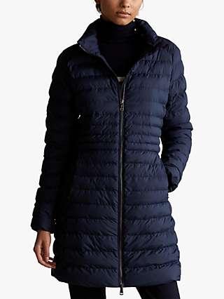 Polo Ralph Lauren Packable Long Jacket, Aviator Navy