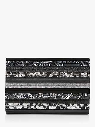 Kurt Geiger London Party Envelope Clutch Bag, Black