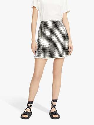 Ted Baker Bboniis Abstract Mini Skirt, Ivory