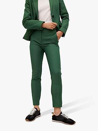 Mango Slim Fit Suit Trousers