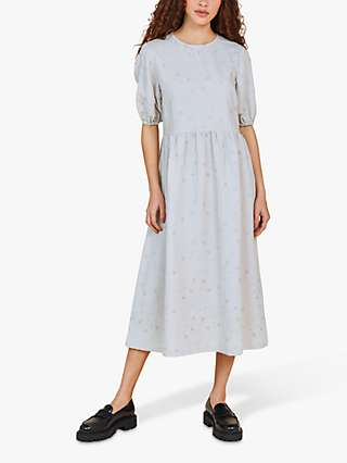 Finery Florence Floral Embroidery Midi Dress