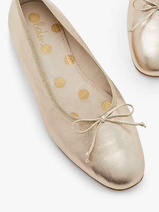 Boden High Cut Ballerina Pumps