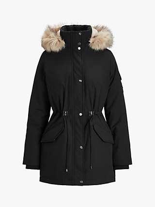 Lauren Ralph Lauren Insulated Parka Coat, Black