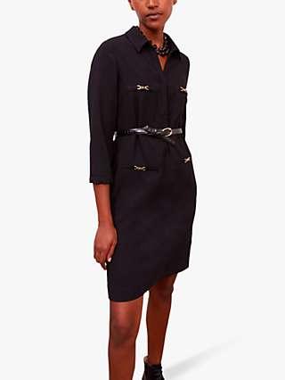 Gerard Darel Jodi A Line Dress, Black