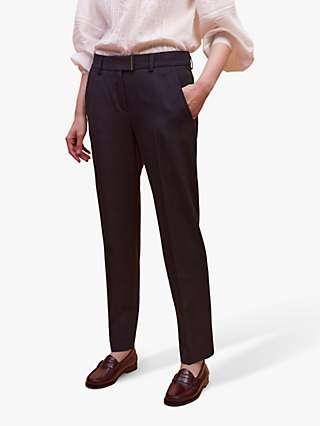 Gerard Darel Emael Tailored Trousers, Navy