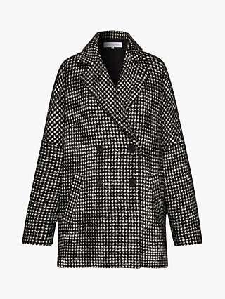 Gerard Darel Siena Longline Wool Blend Coat