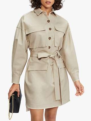 Ted Baker Utility Shirt Dress, Natural