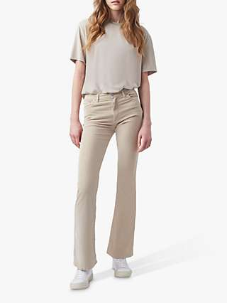 French Connection Reyna Short Sleeve Modal Top