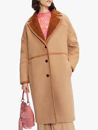 Ted Baker Joanahh Long Coat, Camel