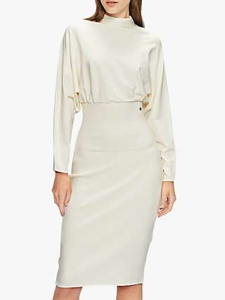 Ted Baker Alice Cinched Knee Length Dress, White