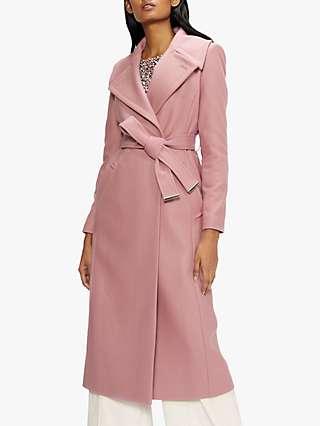 Ted Baker Rrosiey Wool Blend Coat