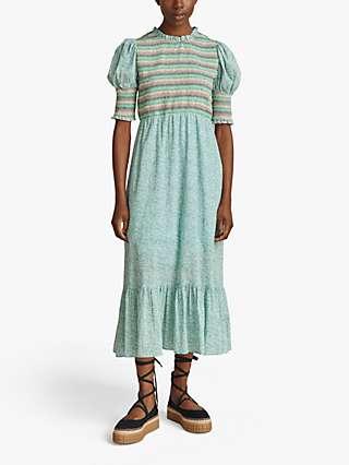 Ghost Mila Midi Dress