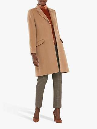 Helen McAlinden Lisa Tailored Coat, Camel