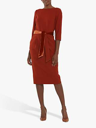 Helen McAlinden Caroline Belt Knee Length Dress