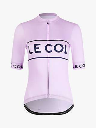 Le Col Sport Logo Jersey Short Sleeve Cycling Top
