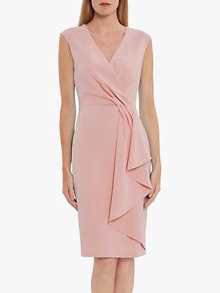Gina Bacconi Inona Moss Crepe Dress