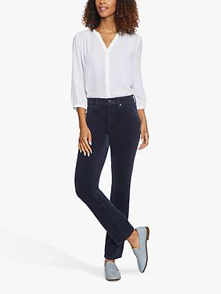 NYDJ Sheri Slim Fit Corduroy Trousers